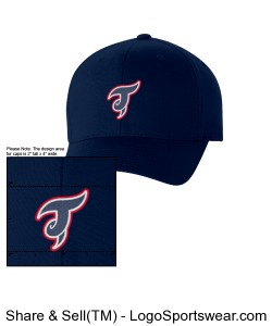 FITTED Triangle Twisters hat Design Zoom